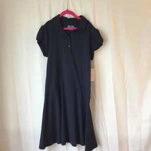 Nautical School Uniform Dress Girls L